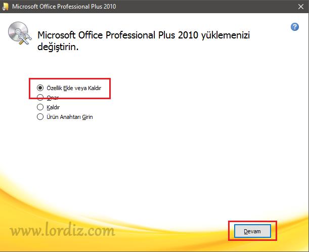 Microsoft Office Makro Dil Desteği veya Denetim Desteği Sorunu - windows-destek