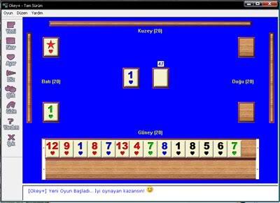 Türkçe Ücretsiz Okey Oyunu (Kurulumsuz)