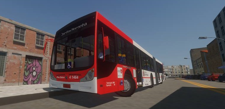 "Ücretsiz Otobüs Simülasyon Oyunu ""Proton Bus Simulator"""