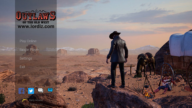 "Red Dead Redemption 2 Benzeri Hayatta Kalma Oyunu ""Outlaws Of The Old West"""