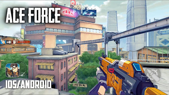 "Alternatif Overwatch Mobil Oyunu ""Ace Force"" [Beta]"