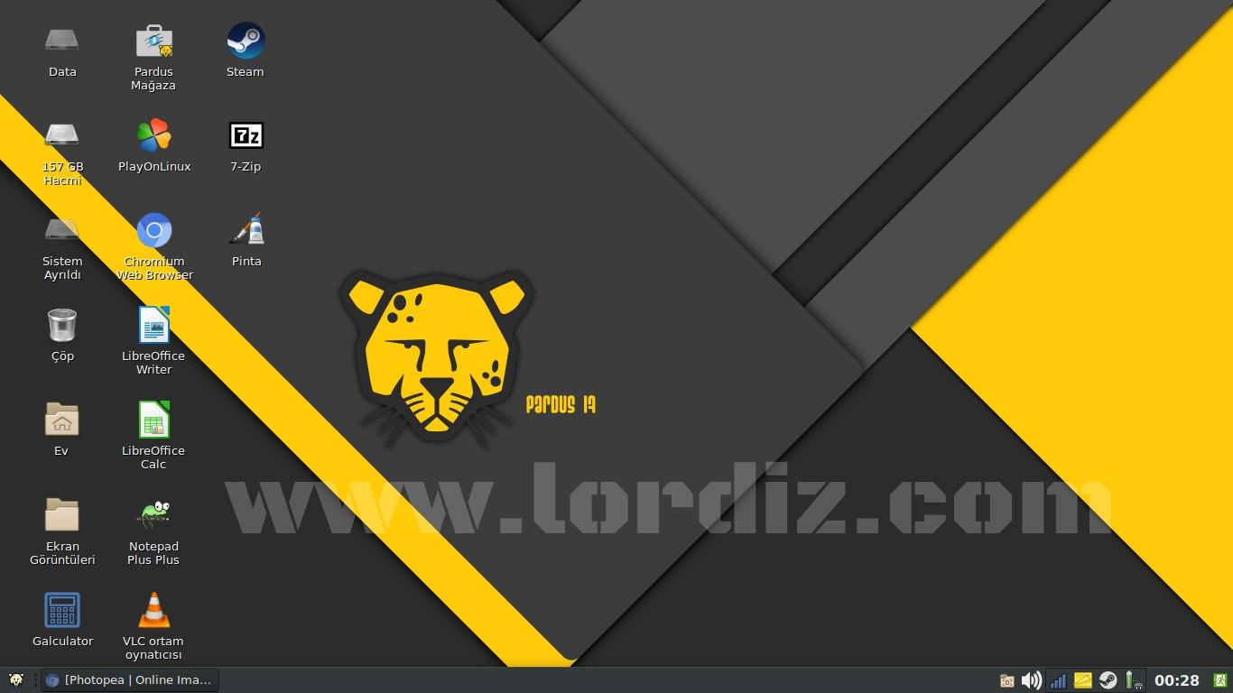 pardus masaustu - Yerli Linux Dağıtımı Pardus! Pardus Kurulumu ve İlk İzlenim!