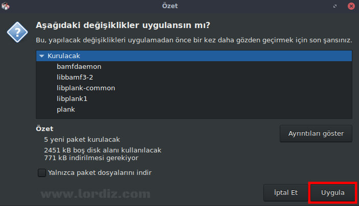 """Pardus için Ücretsiz Dock Uygulaması """"Plank"""" - linux"""