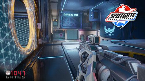 "portal savaslari botlu oynanan splitgate arena warfare - Portal Savaşları ""Splitgate: Arena Warfare"", Steam'de Yayınlandı!"