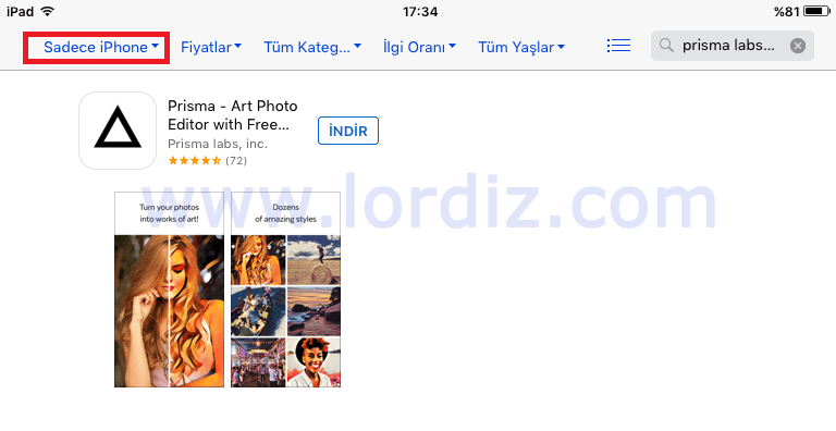 "Prisma Efekt Uygulaması ""Prisma - Art Photo Editor "" - elma-dunyasi, google-play"