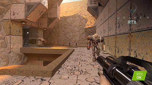 "Nvidia'nın Yeniden Tasarladığı Quake 2 Oyunu ""Quake II RTX"""