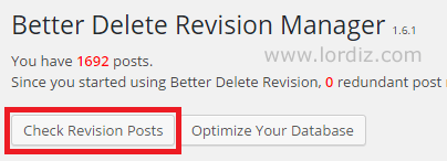 Wordpress Yazıları İçin Revizyon Kayıtlarını Silmek - web-master