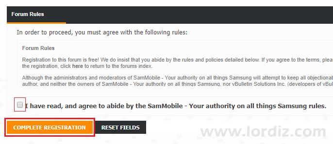 sammobile4 - Sammobile.com Sitesine Nasıl Kayıt Olunur?