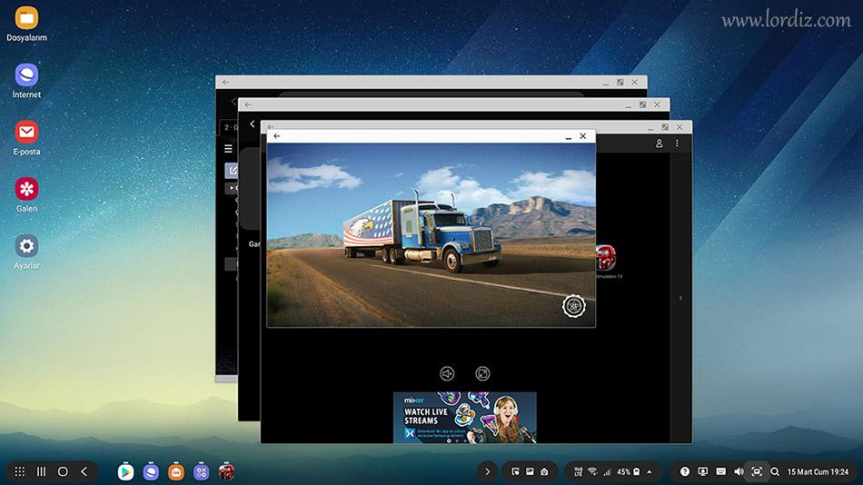 Samsung Dex ile Televizyonu veya Monitörü Bilgisayara Dönüştürmek - linux, google-play