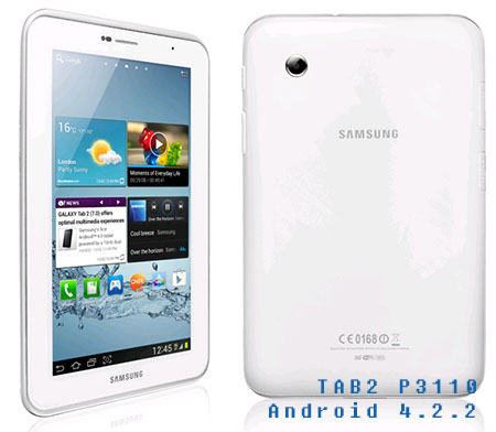 Samsung Galaxy Tab 2 p3110 İçin Android 4.2.2 Türkiye Romu