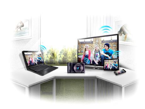 Samsung Fotoğraf Makineleri İçin İ-Studio ve Pc Backup