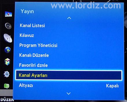 Samsung Smart Tv'lerde Uydu Tarama ve Kanal Listesi Düzenleme - windows-destek