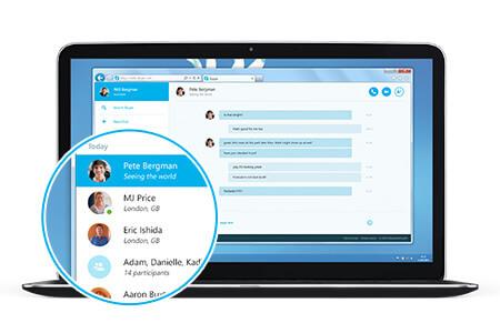 """Tarayıcıdan Sohbet Keyfi için """"Web Skype"""""""