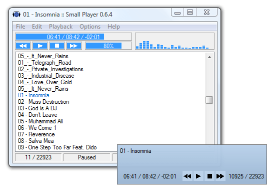 Winamp Alternatifi Kurulumsuz Mp3 Oynatıcı - download-yazilari