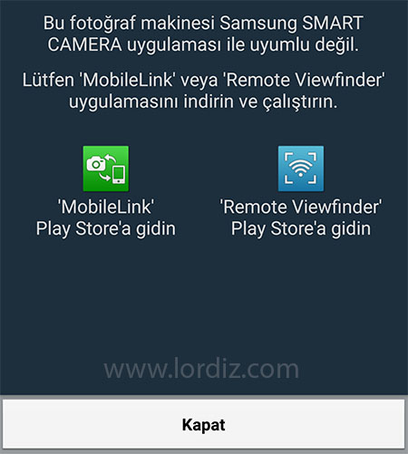 smart camera app2 - Samsung MobileLink ve Remote View Finder Uygulamaları [APK]