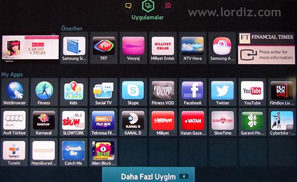smarttv app1 zps2414d3a7 - Samsung Smart Tv'lerde Uygulama Güncelleme