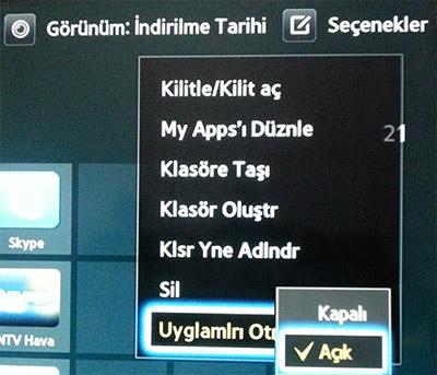 Samsung Smart Tv'lerde Uygulama Güncelleme - windows-destek