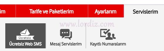 Vodafone Web ile Vodafone içi Günlük 10 Ücretsiz Sms - cep-telefonu-teknoloji-haber