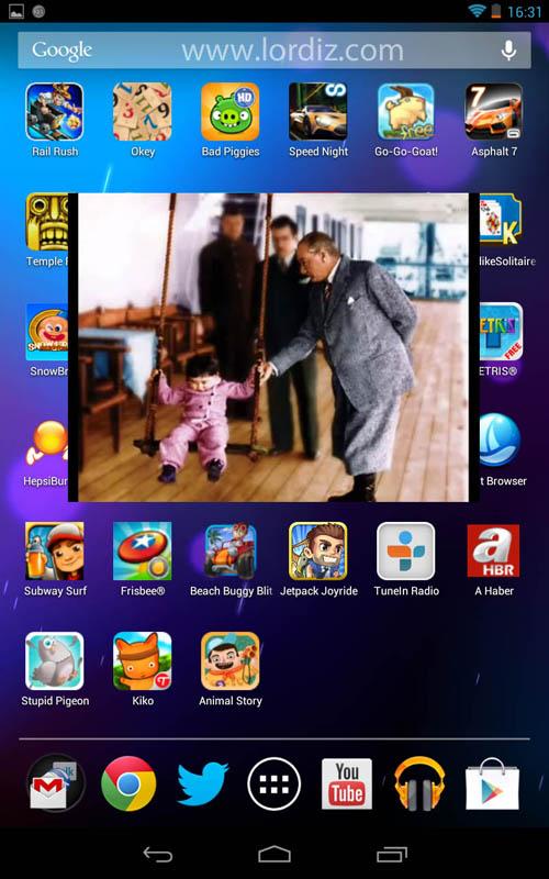 ss jb 3 - Android Cihazlarda BSPlayer ile Video Popup Kullanımı
