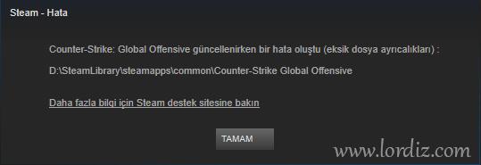 """Steam """"Eksik Dosya Ayrıcalıkları"""" Sorunu ve Çözümü - windows-destek, oyun-indir"""