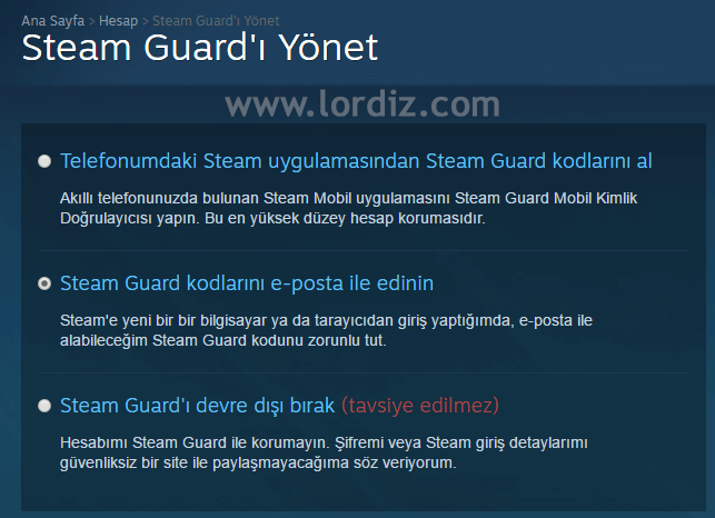 Steam Guard Nasıl Aktifleştirilir? Nasıl Kapatılır? - oyun-indir