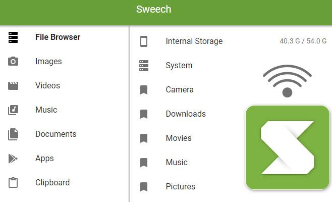 Sweech ile Akıllı Telefonundan Kablosuz ve Sınırsız Dosya Paylaşma