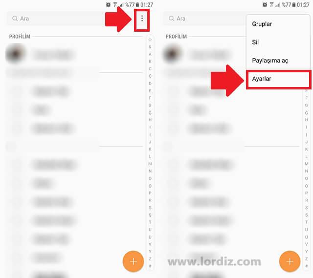 telefon kisileri1 zpsdrqkkrad - Android Rehber Sorunu; Rehber Boş Görünüyor!
