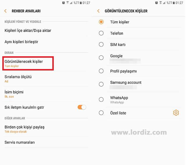 telefon kisileri2 zps33bdv15s - Android Rehber Sorunu; Rehber Boş Görünüyor!