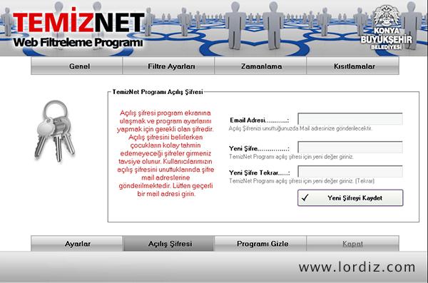 Ücretsiz Web Filtreleme Yazılımı