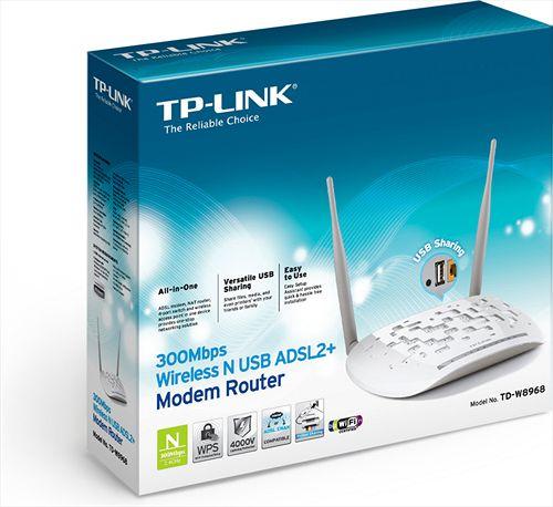 TP-Link TD-W8968 Kablosuz Modem Yazılım Güncelleme