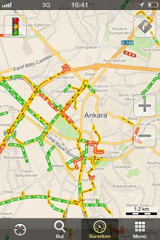 Yandex Haritalar'ın Android ve Apple ios Uygulamaları