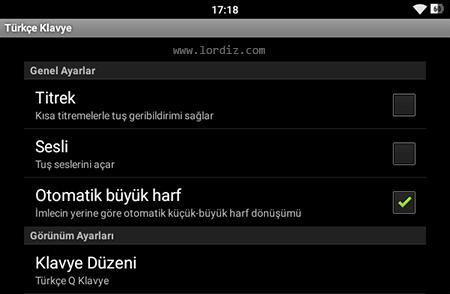 turkce klavye zpstuduf4ju - Android Telefon ve Tabletler için Türkçe Q - F Klavye