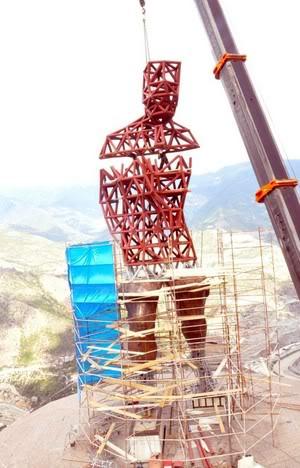 turkiyenin en buyuk heykeli artvinde 2 - Türkiye'nin En Büyük Atatürk Heykeli Artvin'e Yapıldı