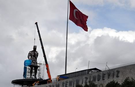 Türkiye'nin En Büyük Atatürk Heykeli Artvin'e Yapıldı - mustafa-kemal-ataturk-yuce-atam