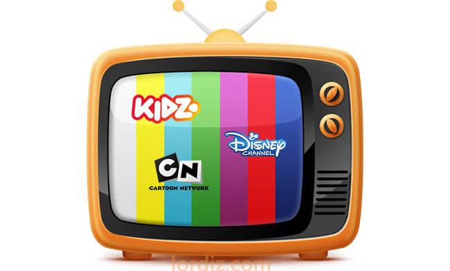 Türksat Uydusundaki (Çizgi Film) Çocuk Kanalları