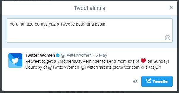 tweet alintila1 zpsfwygners - Bilgisayardan Tweet Alıntılama Nasıl Yapılır?