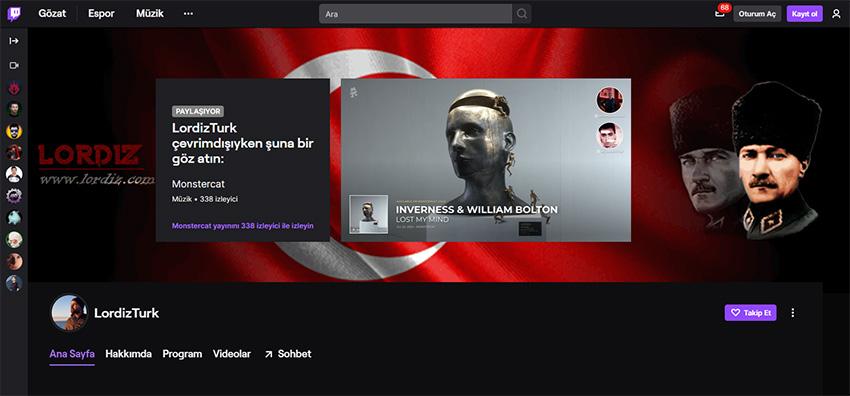 Başka Bir Twitch Yayıncısının Yayınını Twitch Profilinden Paylaşmak!