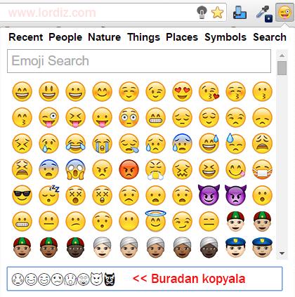 twitter emoji zpsdydxgupe - Twitter'da İfade (Sembol - Emoji) Kullanmak
