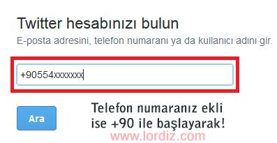 twitter1 zps256c399e - Twitter Hesap Güvenliği İçin Telefon Etkinleştirme