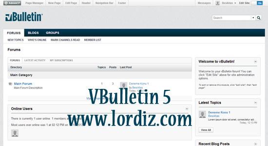 vbulletin5 zpse0d9505b - Vbulletin 5.5.X Kurulumu ve İlk Config Ayarları