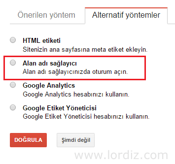 Google'da TXT (Cname) Kaydı ile Site Doğrulama - web-master