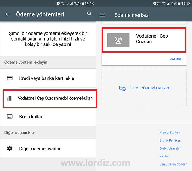 Vodafone Hatlardan Google Play'de Mobil Ödeme ile Alışveriş - cep-telefonu-teknoloji-haber, google-play