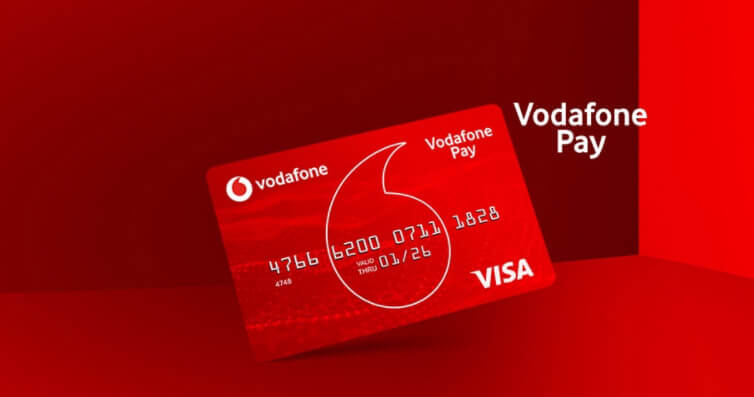 "Vodafone'dan Paycell Alternatifi Ön Ödemeli Kart ""Vodafone PAY"""