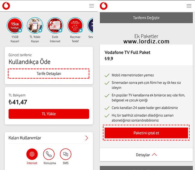 vodafonetv paket iptal - Otomatik Yenilenen Vodafone TV Abonelik İptal! Nasıl Yapılır?