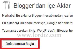 wb3 - Bloggerdaki Yazılarımızı Wordpress'e Aktarmak