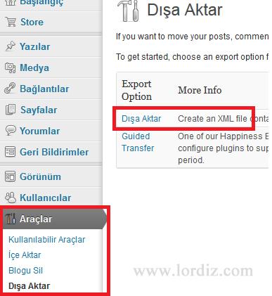 wb6 - Bloggerdaki Yazılarımızı Wordpress'e Aktarmak