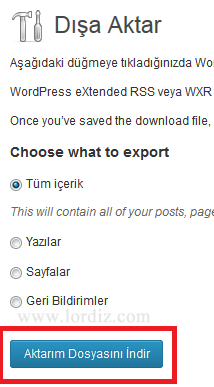 wb7 - Bloggerdaki Yazılarımızı Wordpress'e Aktarmak