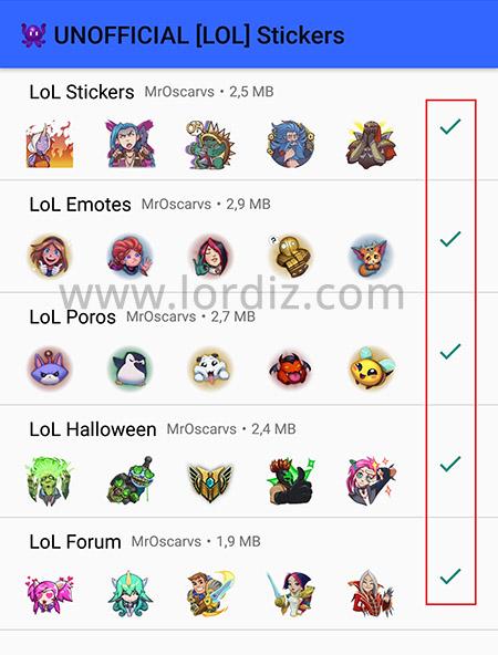 whatsapp cikartma yukleme kullanmak - Whatsapp'da Sticker Dönemi! Whatsapp'a LOL Çıkartmaları Yüklemek!