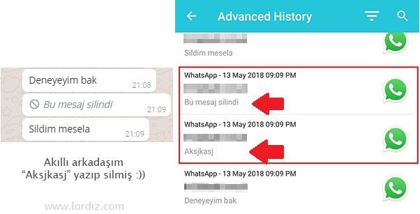 whatsapp silinen mesaj - Silinen Whatsapp Mesajlarını Okuma