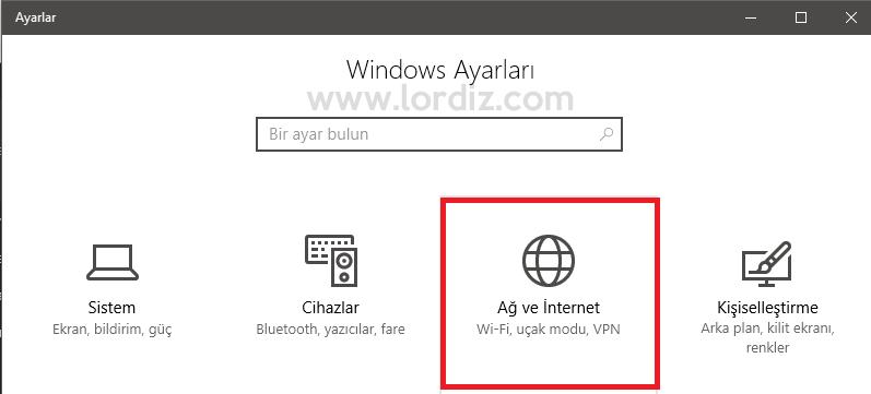 windows10 dns1 - Windows 10'da Dns Nasıl Değiştirilir?